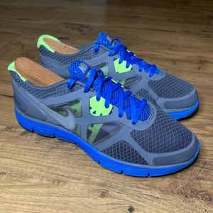 Nike Lunarglide3 Shoes Blue Youth Size 6
